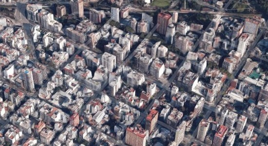 Obras desde el pozo en Belgrano