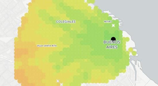 Tiempo de viaje promedio en buenos aires - Commute Time Buenos Aires