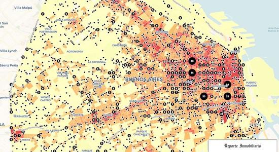 mapa delito capital federal