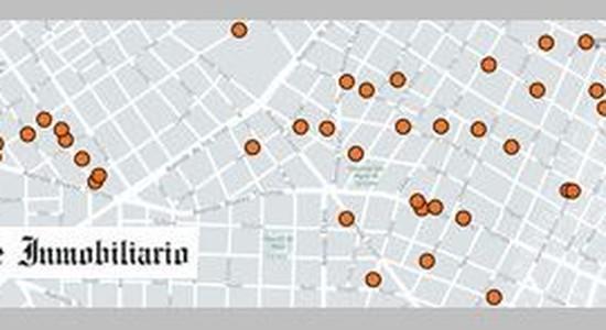 Departamentos desde el pozo en Belgrano