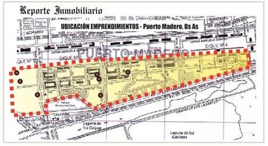 Departamentos en Puerto Madero