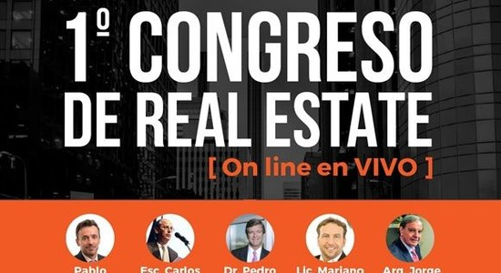 Primer congreso de real estate on line