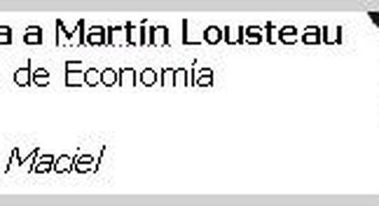 Martin Lousteau - Créditos Hipotecarios
